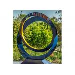Contemporary High Glossing Stainless Steel Decoration Sculpture for sale