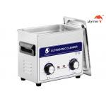 JP-020 Medical Ultrasonic Cleaner , 120W Ultrasonic Parts Washer 3.2L Mechanical Knob for sale