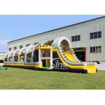 China 24m long big challenge adults inflatable obstacle course for boot camp or keeping fit made in Sino Inflatables for sale