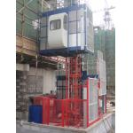 380V 50HZ / 60HZ Construction Material Hoists 1000KGS With Double Cage for sale