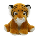 EN71 15cm Simulation Siberian Tiger Plush Doll