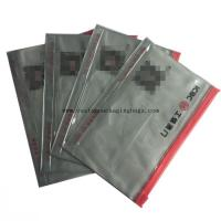 eco- friendly plastic stand up pvc zipper bag for document receipt card packaging for sale