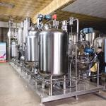 China GMP Ginger Oil Extractor Machine , Hempseed Oil Plant Oil Extraction Equipment for sale