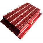 6063 Aluminum Housing CNC Machining Parts Anodized Aluminium Profile Red Color for sale