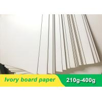 China Environmental 300gsm Ivory Board Paper cardboard paper sheet for invitation card for sale