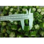 China 2020 new crop  IQF Individually Quick Freezing Okra Cut FDA / ISO Certificated for sale