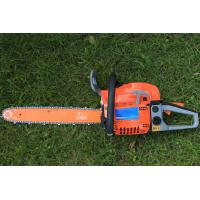 China Radiating Faster Gas Chainsaw Home Depot With Double Vent Muffler 7000rpm supplier