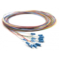 Stable interchangeability 2mm G652D Single Mode  Patch Cord Fiber Optic Pigtail