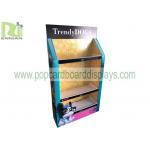 China Floor Standing Pop Display Shelf, Corrugated Plastic Display Rack For Pets Products for sale