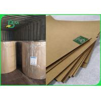China 350gsm 400gsm Virgin Kraft Packaging Paper For Gift Box 65 * 86cm Sheet for sale