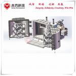 Black Chrome Magnetron Sputtering Equipment , Car Wheel Hard Chrome Plating Machine for sale