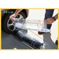 China Break Point Adhesive PE Protection Film For Auto Carpet Easy Peel Off for sale