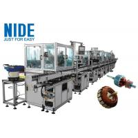 RAL9010 Electric Motor Production Line Armature Auto Winding Machine for sale