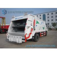 Foton Dual Axle 4X2 Comperssed Garbage Trucks 5m3-8m3 95 Km/h for sale
