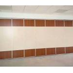 Hotel Restaurant Sliding Acoustic Partition Wall / Hanging Soundproof Room Dividers Partitions for sale