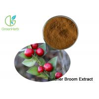 China UV Butcher Broom Extract / Ruscus Aculeatus Extract Ruscogenin Powder 10% 20% for sale