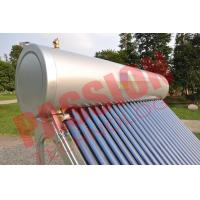 China Pvc Pipe Solar Water Heater Glass Tubes , Home Solar Water Heating Systems for sale