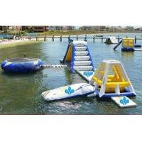 China Giant Ocean Play Inflatable Water Park For Water Sports factory