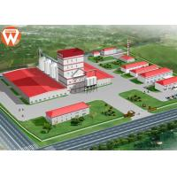 With Steel Structure Design 20T/H Livestock Animal Feed Production Line