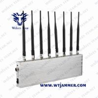 China Adjustable  All Frequency Omni-Antennas GSM 3G 4G Mobile Phone Signal Jammer GPS WiFi Lojack Jammer for sale