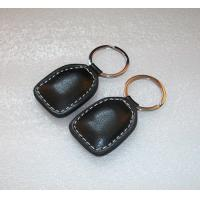 ID64 Leather RFID Key Fob Pre - Programmed Token Compatible For Access Control for sale
