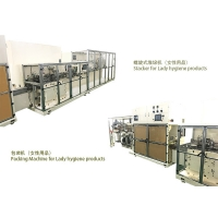 China 50-55 Bags/Min Full Auto Packing Solution For Lady Menstrual Pad with Mitsubishi system supplier