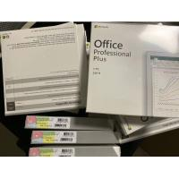 DVD/CD/ Disc Package Microsoft 2019 Professional Plus Multi Language Box 1 User for sale