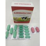 China Albendazole Veterinary Tablets For Animal Feed BP/USP/CP Standard for sale