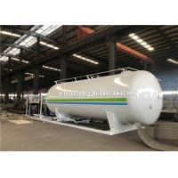 30000L Mobile Filling LPG Gas Storage Tank 1.71Mpa Design With 2 Filling Dispenser for sale