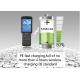China Waterproof Portable Barcode Scanner , Bluetooth Android Handheld Terminal Rugged PDA for sale