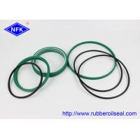 China Wear Resistance Breaker Seal Kit PU 93A , NBR 90 Hardness Green Color for sale