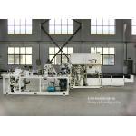 HMI Operation Semi Automatic Stack Diaper Sanitary Napkin Packing Machine for sale