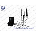 China Portable Pelican Vehicle Jammer Convoy 10 Bands 820W 3G 4G WIFI GPS Blocker for sale