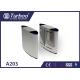 Running Stable Flap Barrier Gate / Turnstile Entry Systems No Mechanical Impact for sale