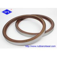 China VITON Material ZAX850/ZX870 Rotary Shaft  Oil Seals Fluorine Adhesive Dustproof Lip BZ5284E factory