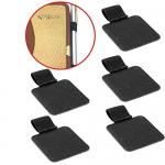 5 Pack Set Fancy Stationery Items Pen Loop PU Leather Cover Various Colors Available for sale