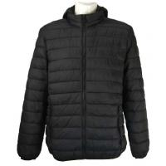 men's basic nylon padded  jacket 1801&1802,Black and Navy for sale