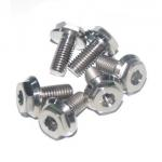 CNC Milling Titanium Bolts , Exhaust Manifold Bolts With Polishing Surface for sale