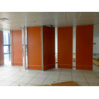 China Multi Color Acoustic Material Sliding Movable Partition Walls Commercial Furniture Saving Space supplier