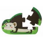 Irregular Shape Puzzle Board Games / Animal Jigsaw Puzzles 4pcs AQ Varnish Finishing for sale