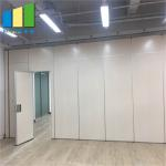 Sound Proofing Collapsible Partition Walls / Folding Office Movable Partition Walls for sale