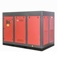 132kw 175HP Two Stage Air Compressors / Portable Screw Air Compressor for sale