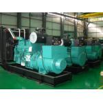 Synchronization Control Panel 500kva Genset Diesel Generator cummins Copper Radiator 50°C for sale