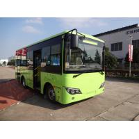 8.05 Meter Length Electric Passenger Bus , Tourist 24 Passenger Mini Bus G Type for sale
