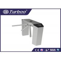 Automatic Tri - Channel Playground Security Turnstile Gate With Card Reader for sale