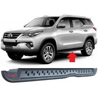 Toyota Fortuner 2016 2018 Steel Side Step Bars TRD Style Replacement Parts for sale