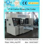 China Corrugated Colorful Carton Rotary Die-Cutting Machine For Die Cutting And Molding for sale