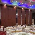 Banquet Hall Acoustic Movable Partition Soundproof Wood Folding Partition Walls Cost for sale