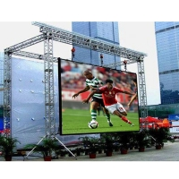 China manufacture die-casting aluminum P4 rental full color led display outdoor advertising led video wall panel for sale