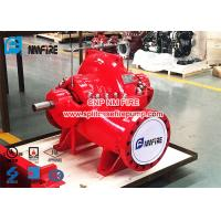 China 1500gpm @ 105-120PSI Diesel Engine Driven Fire Pump Set with UL / FM Certification For Pump And Diesel Engine for sale